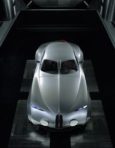 Futuristic Car, BMW Mille Miglia Concept Coupe, from 2006. Obviously a one-off. @Deidra Brocké Wallace