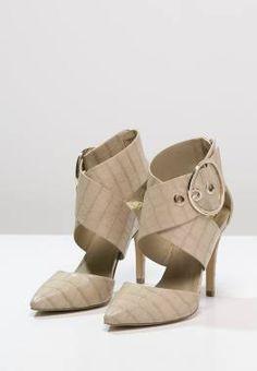 Anna Field Tacones Beige zapatos tacones Field beige Anna CentralModa.eu