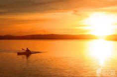 Punta del Este sunset.