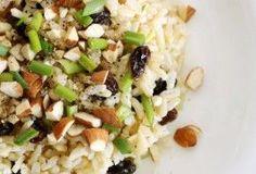 Alimento completo: enslada de verduras con arroz, ideal para el verano.
