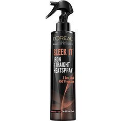 L'Oreal Iron Straight Heat Spray- on my wish list for this winter when I begin to iron my hair again (taking a break this summer). It received positive reviews...