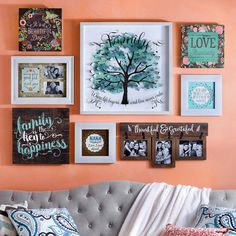 Forget five steps. We'll show you how to create a stylish gallery wall in only three. From what to use to how to map it out, here's what you need to know!