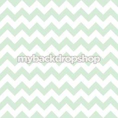 4ft x 4ft Mint Green and White Chevron van MyBackdropShop op Etsy, $38.99