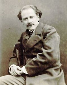 Composer and teacher Jules Massenet, 1880. He wrote more than 30 operas, and taught music composition at the Paris Conservatoire from 1878 to 1896.