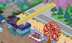 The Simpsons Tapped Out ~ Squidport so far...every character I have finishes the Frying Dutchman Quest at the same time..