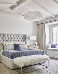 26 romantic master bedroom design ideas 7 ⋆ All About Home Decor Romantic Master Bedroom, Small Master Bedroom, Master Bedroom Makeover, Stylish Bedroom, Master Bedroom Design, Modern Bedroom, Master Bedrooms, Contemporary Bedroom, Beautiful Bedrooms