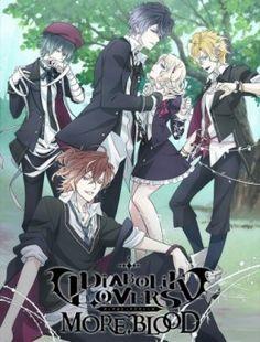 Anime: Diabolik Lovers More, Blood Personajes: los de la primera temporada y cuatro más. Descripción: nuevos vampiros llegan a la mansión para luchar por la joven de sangre dulce. Conflictos surgirán entre los seis hermanos y estas nuevas criaturas.