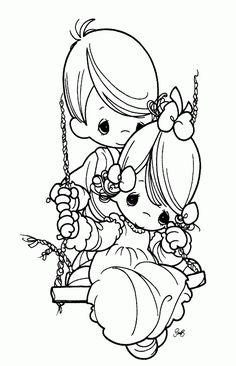 free bride and groom printable coloring page  BrideAndGroom