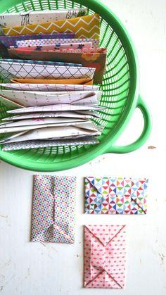 folded enveloppes