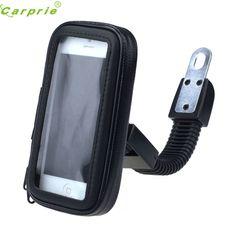 CARPRIE Waterproof Motorcycle Rear View Mirror Mount Case For Phone GPS Jun.6