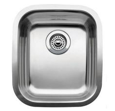 """View the Blanco 440247 Supreme Single Basin Stainless Steel Undermount Bar Sink 15 9/16"""" x 17 3/4"""" at Build.com."""
