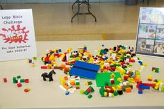 lego building - bible challenge (thanks to Riviera Messy Church)