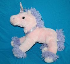 "Circo Plush Pink Purple Unicorn Pony Soft Toy Stuffed Animal Lovey Target 12"" #Circo #Target #BestMadeToys"