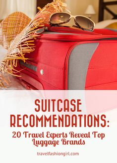 Hope you found these suitcase recommendations and the best luggage brands for travel helpful. Please share them with your friends on Facebook, Twitter, and Pinterest. Thanks for reading!