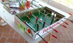 Costruiamo il nostro Calcio Balilla
