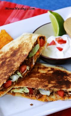 Beefy Crunch Wrap Supremes.  Step-by-step photo recipe tutorial to making this easy and popular fast food menu item at home with your own fresh, quality ingredients.   Perfect for a gathering of folks sitting around watching a football game.