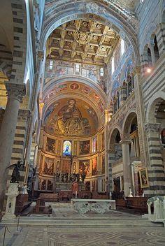 Interior da Catedral de Pisa, provincia de Pisa, regiao da Toscana, Italia.