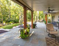 Sloped Backyard Case Study: Under Deck Patio, Fire Pit, Steps & More Under Deck Landscaping, Patio Under Decks, Sloped Backyard, Backyard Patio, Backyard Ideas, Porch Ideas, Small Patio, Sidewalk Landscaping, Tropical Backyard