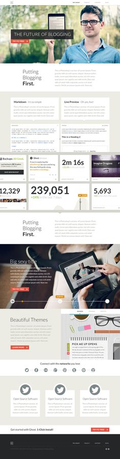 The future of blogging #infographic