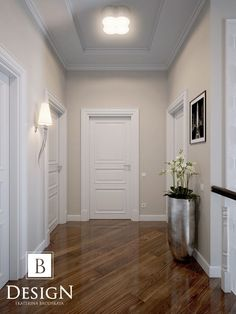 Like slanted boards on the floor - Flur - Paint Colors For Living Room, Paint Colors For Home, House Colors, Hallway Decorating, Interior Decorating, Living Room Designs, Living Room Decor, Flur Design, Hallway Designs