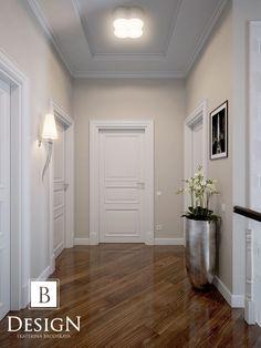 Like slanted boards on the floor - Flur - Home Room Design, Home Interior Design, House Design, Paint Colors For Living Room, Paint Colors For Home, Flur Design, Wall Design, Hallway Decorating, Interior Decorating