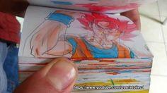 EPIC BATTLLE !!!! Goku vs Superman flipbook animation full version by et...