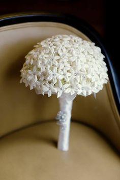 Stefanotis Bouquet - the smell would be divine!
