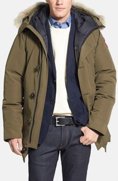91cbbce857ab7 cheap Canada Goose Men's Selkirk Parka Militarygreen Size L