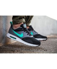 dc7546a4af Shop offers the best Nike Air Max Tavas Grey Black Green White Mens Shoes &  Trainers at Cheap Prices.