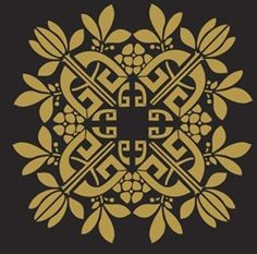Ceiling medallion stencil for my bedroom?