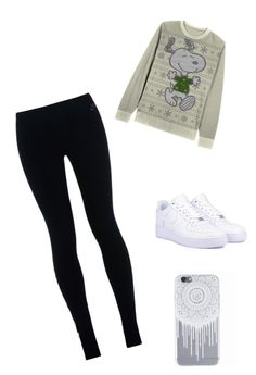 """Winter Looks"" by mitchieanne21 on Polyvore featuring NIKE"