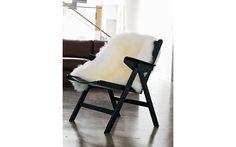sheepskin throw, tv rooms, folding chairs, office chairs, leather chairs, desk chairs