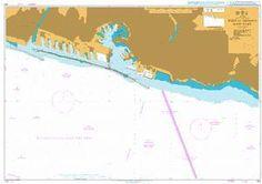 British Admiralty Nautical Chart 355: Italy - West Coast, Port of Genova, East Part