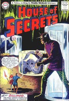 Mark Merlin - Dc Comics - Elsa - Eclipso - Giant Animals - Sheldon Moldoff
