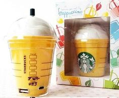 Starbuck Coffee Cup Universal 5200mAH External Portable Backup Battery Charger Power Bank 3 Colors