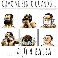 Acho que todo o barbudo se sente assim ao fazer a barba!  No novo projeto #Cosmethica falamos sobre alguns cuidados com a barba e as unhas para homens além de tudo tem dicas de produtos.  Dê uma conhecida em nosso novo projeto em http://ift.tt/2bA3d6E  #agentenaoquersocomida #avidaquer #BelezaPorTrásDoRótulo #cosmethica  @avidaquer por @teeeetchy avidaquer.com.br | avidaquer no Facebook | Instagram | Twitter