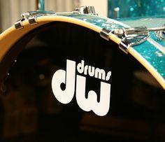 DW drums display head