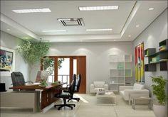 25 Desain Interior Kantor Minimalis Modern Yang Indah | Desainrumahnya.com