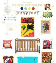 Superhero babies room