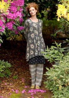 """""""Ziki"""" tunic in modal & elastane – Pattern mixes – GUDRUN SJÖDÉN – Webshop, mail order and boutiques   Colourful clothes and home textiles in natural materials. by DeeWuckaWucka"""