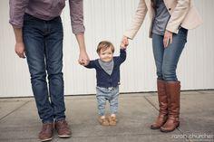 Family portrait taken around Hampton | Sarah Churcher