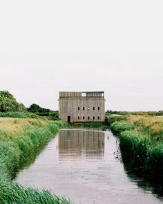 Image 1 of 37 from gallery of Skjern River Pump Stations / Johansen Skovsted Arkitekter. Photograph by Rasmus Norlander Garden Pavilion, Best Architects, Architecture Awards, Amazing Architecture, Exhibition Space, Historic Homes, Contemporary Architecture, Construction, Arquitetura