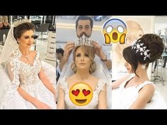 Amazing Bridal Hairstyles Tutorial | Wedding Hairstyle Compilation by Mouniiiir - YouTube