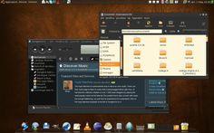 Arezzom KDE Gnome Desktop theme
