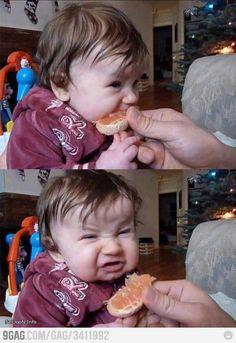 Not keen on tangerines...