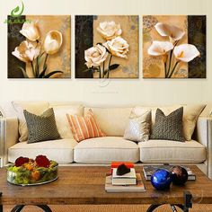 2bd5b2d4e44 Art Print Modular Paintings For The Kitchen For The Living Room And Bedroom  Orchid Canvas Frame Wall Art Nordic Poster Picture