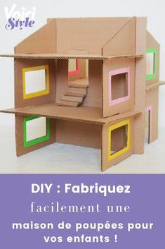L'article à retrouver sur voici.fr Diy Dollhouse, Voici, Parfait, Cool Art, Recycling, Creations, Dolls, Doll Houses, Fun