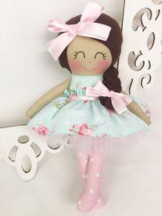 Cloth baby doll Fabric Dolls Handmade Dolls by SewManyPretties