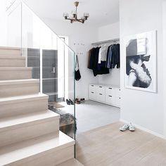 Hallway in my home. @annabylove on Instagram