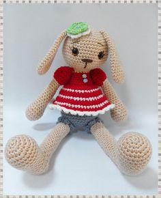 amigurumi tavşan..